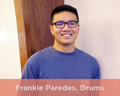 Frankie Paredes, Drums