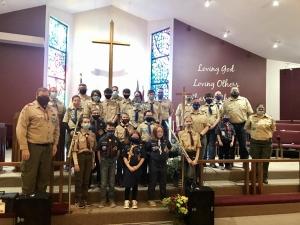 Boy Scout Sunday 2021